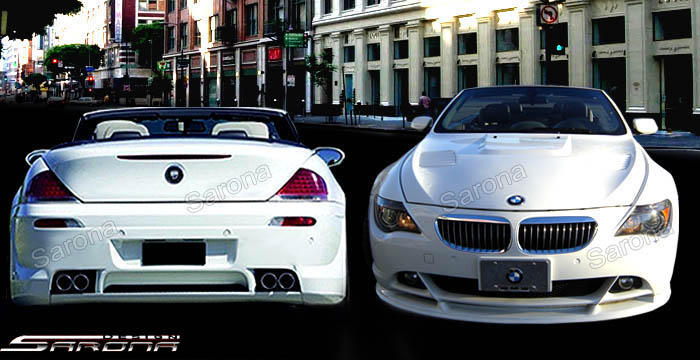 Custom BMW 6 Series Body Kit  Coupe & Convertible (2004 - 2010) - $1790.00 (Manufacturer Sarona, Part #BM-064-KT)
